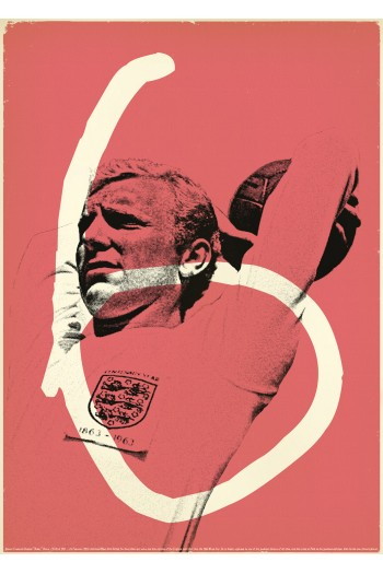 Bobby Moore Posters Vintage Soccer